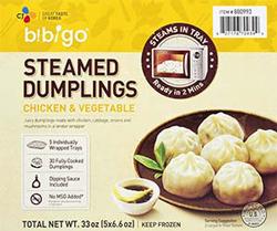 181116cj bibigo steamed dumplings