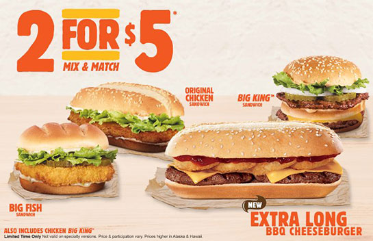 2For5-Offer BK