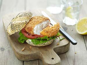 4 Marine Harvest Pieters Chunky Cod Burger