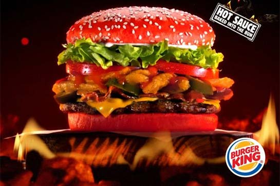 BK Angriest Whopper rotate