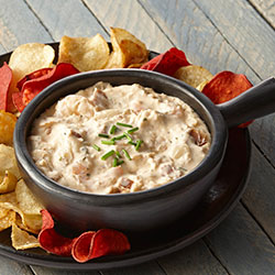 Bacon Horseradish Seafood Dip Phillips
