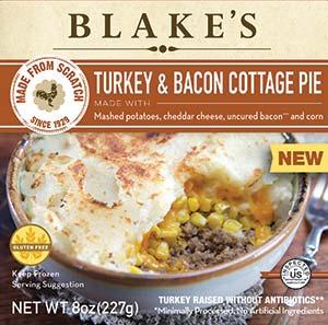 Blakes Turkey Bacon Cottage Pie