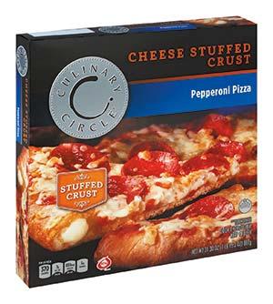 Culinary Circle Pepperoni Cheese Stuffed Crust Pizza