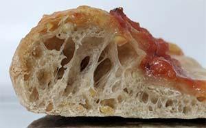Deli Conti high prortein pizza