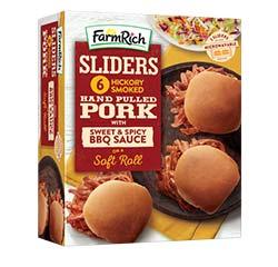 Farm Rich BBQ pulled pork Sliders