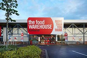 Food Warehouse Banbury Cross exterior