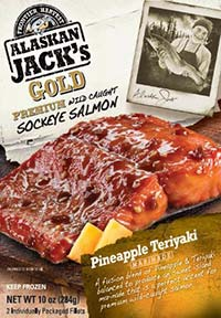 Frontier Harvest Alaskan Jacks Gold Pineapple Teriyaki