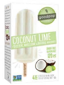 GoodPop Coconut Lime
