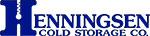 Henningsel full logo emboss