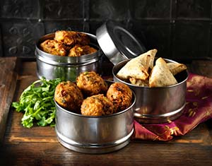 Indian Veg Snack Selection available from Central Foods