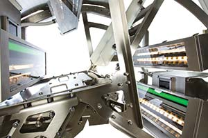 Inside view of SORTEX F with PolarVision Technology