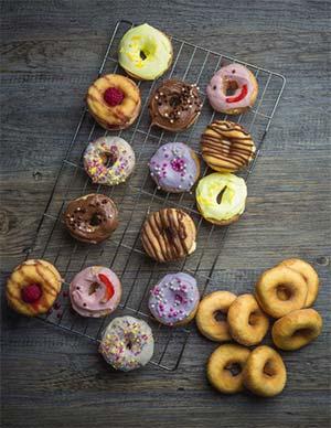 Katerbake Gluten free doughnuts