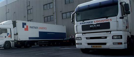 Partner Logistics trucks
