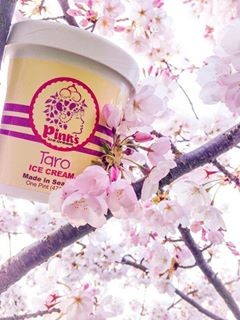 Pinks Taro ice cream-2