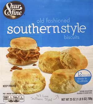 Shur Fine biscuits