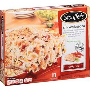 Stouffers chik lasagne