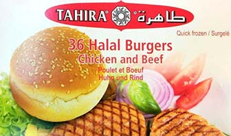 Tahira halal burgers