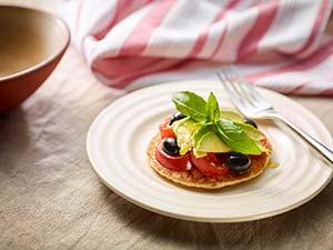 Vegan American Pancake