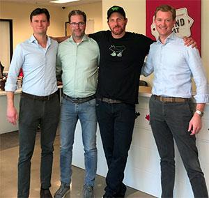Zandbergen team meets Beyond Meat boss