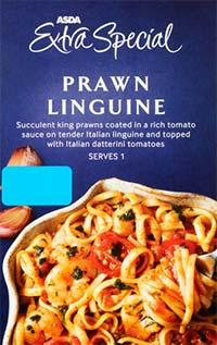 asda extra special prawn linguine
