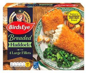 birds eye haddock