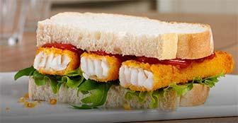 fish stick sandwich