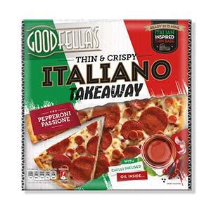 italian takeway pepperoni