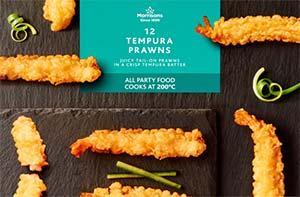 morrisons tempura prawns
