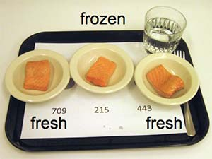salmon fresh and frozen
