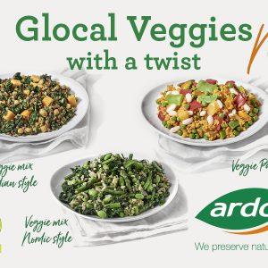 Discover Recipes with Ardo Glocal Veggies