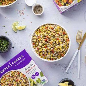 Purple Carrot Debuts Retail Line of Single-Serve, Frozen Meals in USA