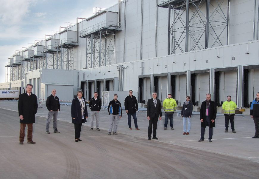 Nordfrost Opens Multi-temperature Food Distribution Warehouse in Germany's Heartland