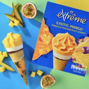 New Sorbet Flavor Expands Extrȇme Line; Froneri Upgrades Serbia Plant