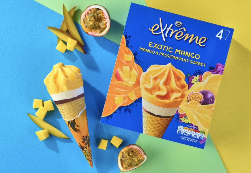 New Sorbet Flavor Expands Extrȇme Line; Froneri Upgrades Serbia Plant