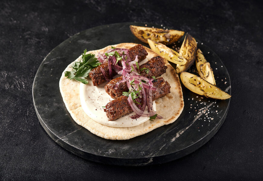 Faux Lamb Kebab Among 'New-Meat' Products from Redefine Meat